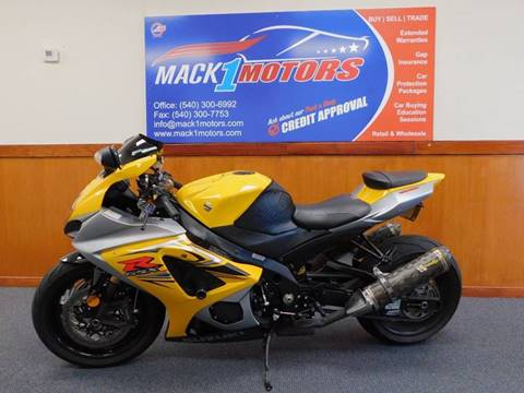 2007 Suzuki GSX 1000R for sale at Mack 1 Motors in Fredericksburg VA