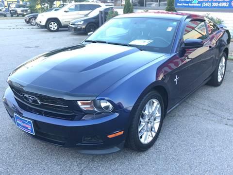 2012 Ford Mustang for sale at Mack 1 Motors in Fredericksburg VA