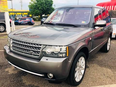 2010 Land Rover Range Rover for sale at Mack 1 Motors in Fredericksburg VA