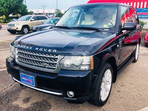 2010 Land Rover Range Rover for sale at Mack 1 Motors in Fredericksburg VA