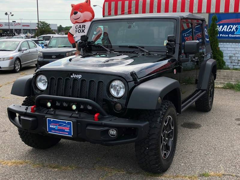 2016 Jeep Wrangler Unlimited for sale at Mack 1 Motors in Fredericksburg VA