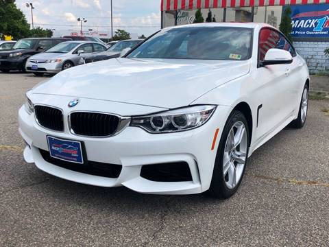 2015 BMW 4 Series for sale at Mack 1 Motors in Fredericksburg VA