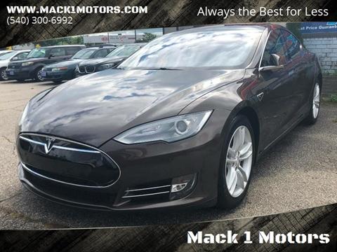 2014 Tesla Model S for sale at Mack 1 Motors in Fredericksburg VA