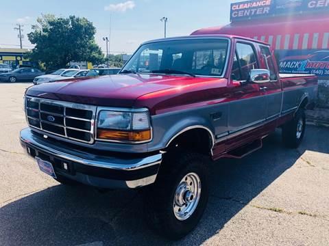 1997 Ford F-250 for sale at Mack 1 Motors in Fredericksburg VA