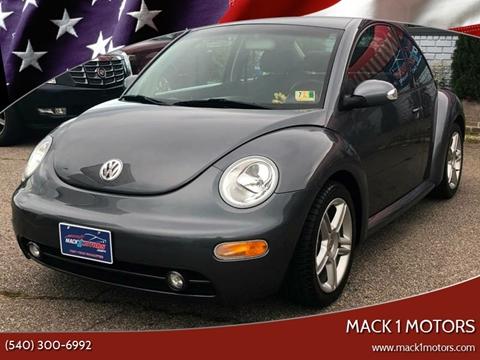 2004 Volkswagen New Beetle for sale at Mack 1 Motors in Fredericksburg VA