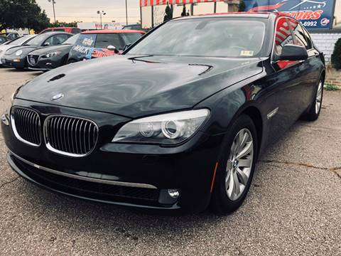 2010 BMW 7 Series for sale at Mack 1 Motors in Fredericksburg VA