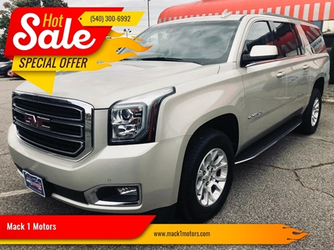 2017 GMC Yukon XL for sale at Mack 1 Motors in Fredericksburg VA