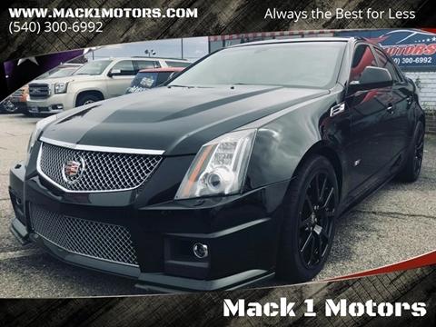 2009 Cadillac CTS-V for sale at Mack 1 Motors in Fredericksburg VA