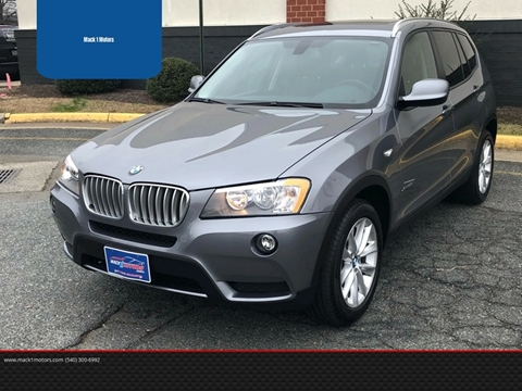 2014 BMW X3 for sale at Mack 1 Motors in Fredericksburg VA