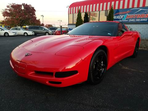 2000 Chevrolet Corvette for sale at Mack 1 Motors in Fredericksburg VA
