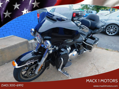 2019 Harley-Davidson Electra Glide for sale at Mack 1 Motors in Fredericksburg VA