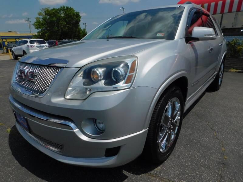 2011 GMC Acadia for sale at Mack 1 Motors in Fredericksburg VA