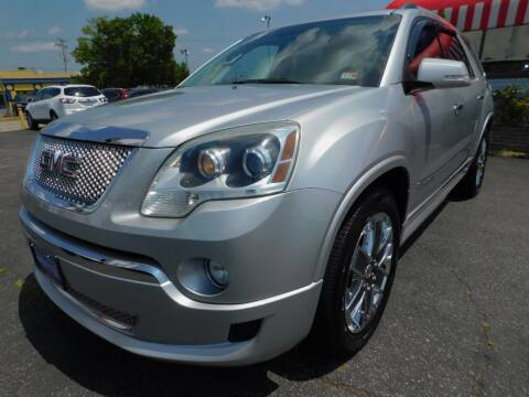 2011 GMC Acadia for sale at Mack 1 Motors in Fredericksburg VA