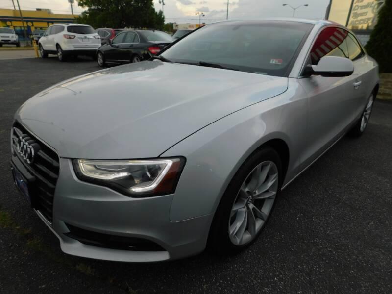 2014 Audi A5 for sale at Mack 1 Motors in Fredericksburg VA