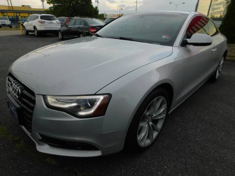 2014 Audi A5 for sale at Mack 1 Motors in Fredericksburg VA