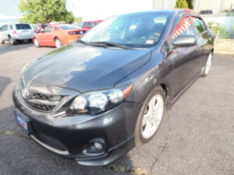 2013 Toyota Corolla for sale at Mack 1 Motors in Fredericksburg VA