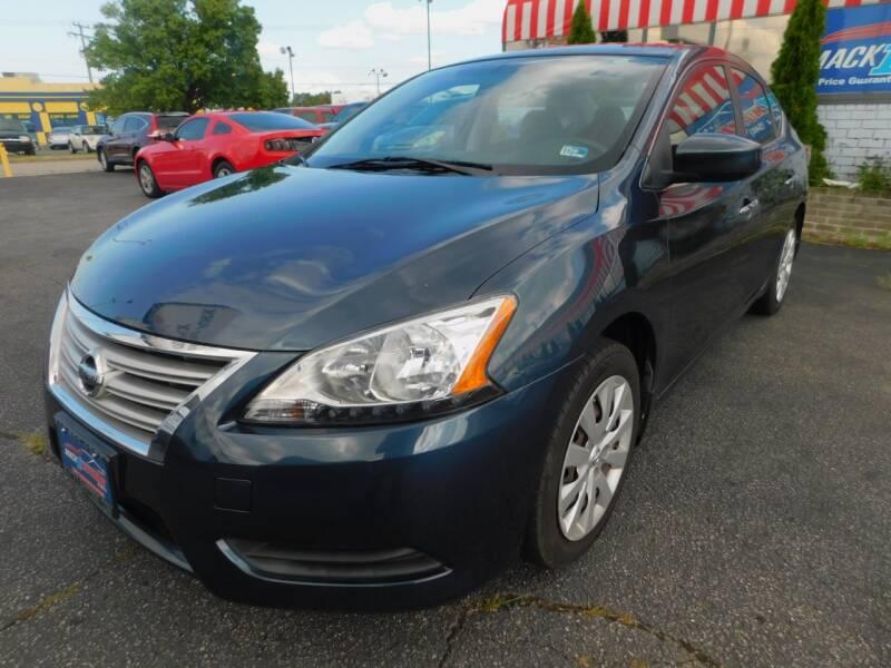 2013 Nissan Sentra for sale at Mack 1 Motors in Fredericksburg VA