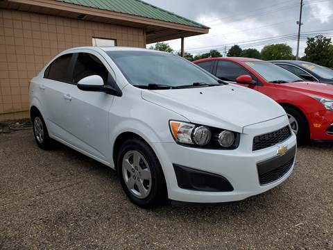 Used Cars Tupelo Ms >> 2015 Chevrolet Sonic For Sale In Tupelo Ms