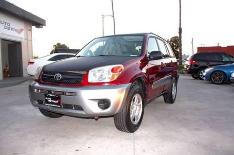 2004 Toyota RAV4 for sale in Anaheim, CA