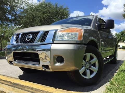 2008 Nissan Titan for sale in Hollywood, FL