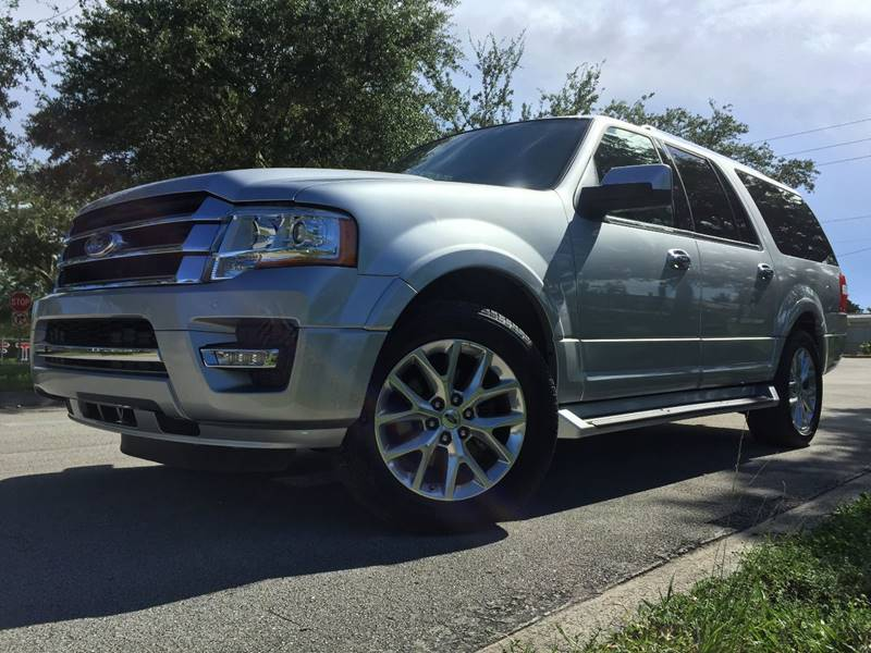 Ford Expedition El For Sale At Tropikar Auto Sales In Hollywood Fl
