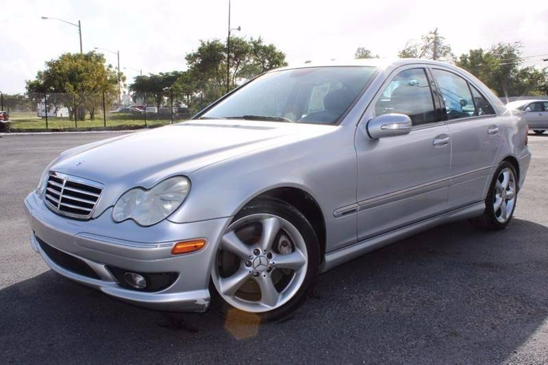 2006 Mercedes Benz C Class For Sale At TROPIKAR AUTO SALES In Hollywood FL