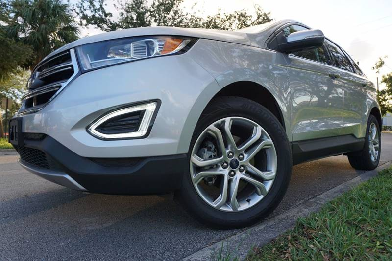 Ford Edge For Sale At Tropikar Auto Sales In Hollywood Fl