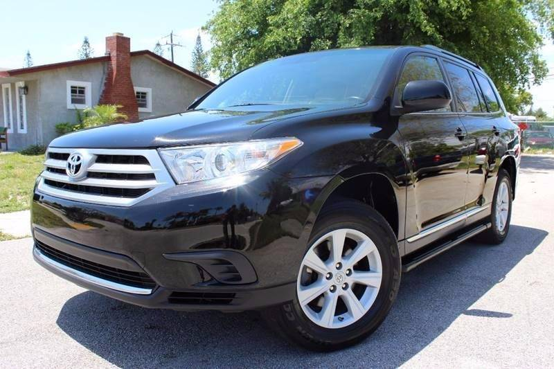 2013 Toyota Highlander For Sale >> 2013 Toyota Highlander Plus In Hollywood Fl Tropikar Auto Sales