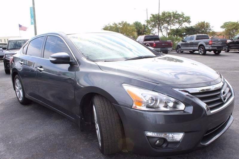2013 nissan altima 2.5 sv in hollywood fl - tropikar auto sales