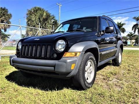 2006 Jeep Liberty for sale in Pompano Beach, FL