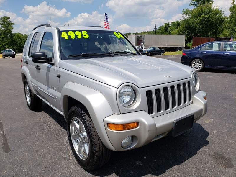 2004 Jeep Liberty For Sale At EXPRESS AUTO SALES In Midlothian VA