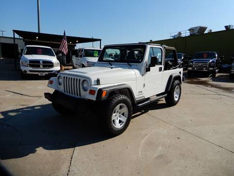 2006 Jeep Wrangler for sale in Collinsville, OK