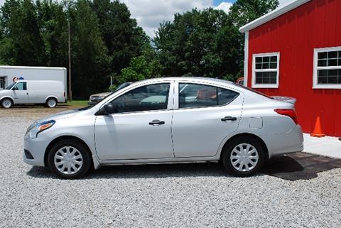 2015 Nissan Versa for sale in Toney, AL