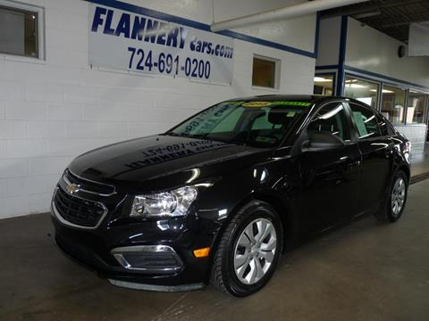 2015 Chevrolet Cruze for sale in Greensburg PA