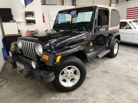 2002 Jeep Wrangler for sale in Newport, NC