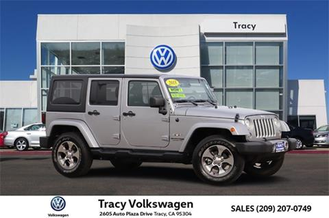 2018 Jeep Wrangler Unlimited for sale in Tracy, CA