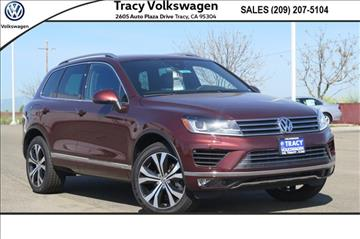 2017 Volkswagen Touareg for sale in Tracy, CA