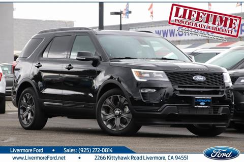 2018 Ford Explorer for sale in Livermore, CA