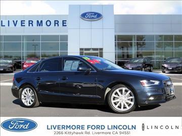 2013 Audi A4 for sale in Livermore, CA