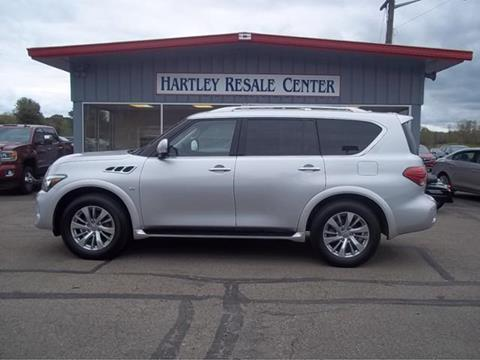 2017 Infiniti QX80 for sale in Jamestown, NY
