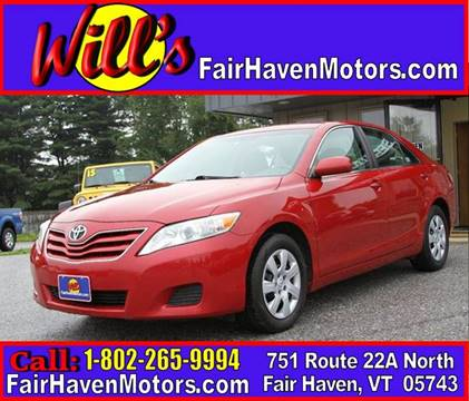 2010 Toyota Camry for sale in Fair Haven, VT