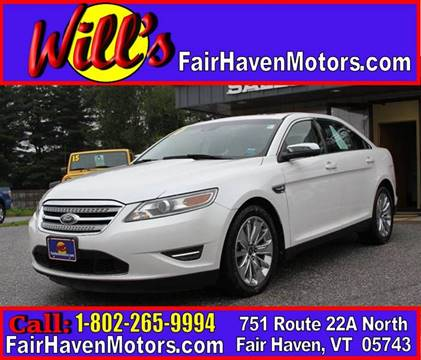 2010 Ford Taurus for sale in Fair Haven, VT
