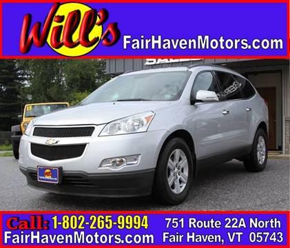 2011 Chevrolet Traverse for sale in Fair Haven, VT