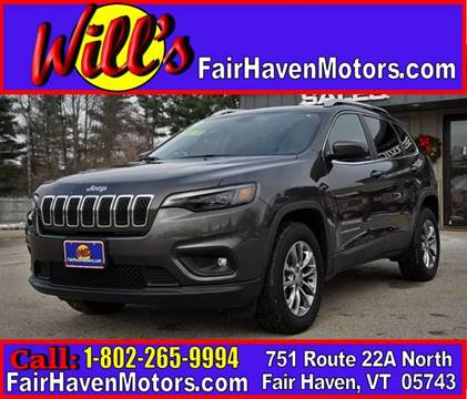 2019 Jeep Cherokee for sale in Fair Haven, VT