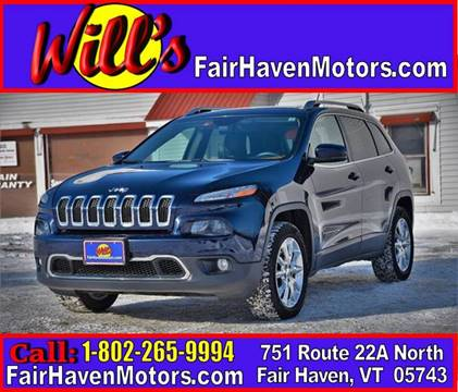 2014 Jeep Cherokee for sale in Fair Haven, VT