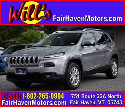 2016 Jeep Cherokee for sale in Fair Haven, VT