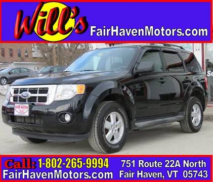 2010 Ford Escape for sale in Fair Haven, VT