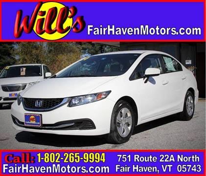2014 Honda Civic for sale in Fair Haven, VT