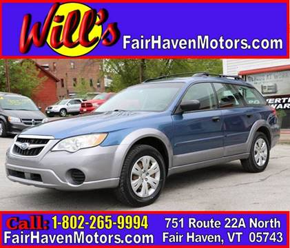 2008 Subaru Outback for sale in Fair Haven, VT