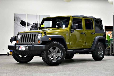 2010 Jeep Wrangler Unlimited for sale in Canton, MA